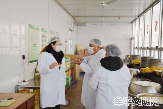 """牟平区大窑街道初级中学打造""""星级食堂"""" 一切为了学生5.JPG"""